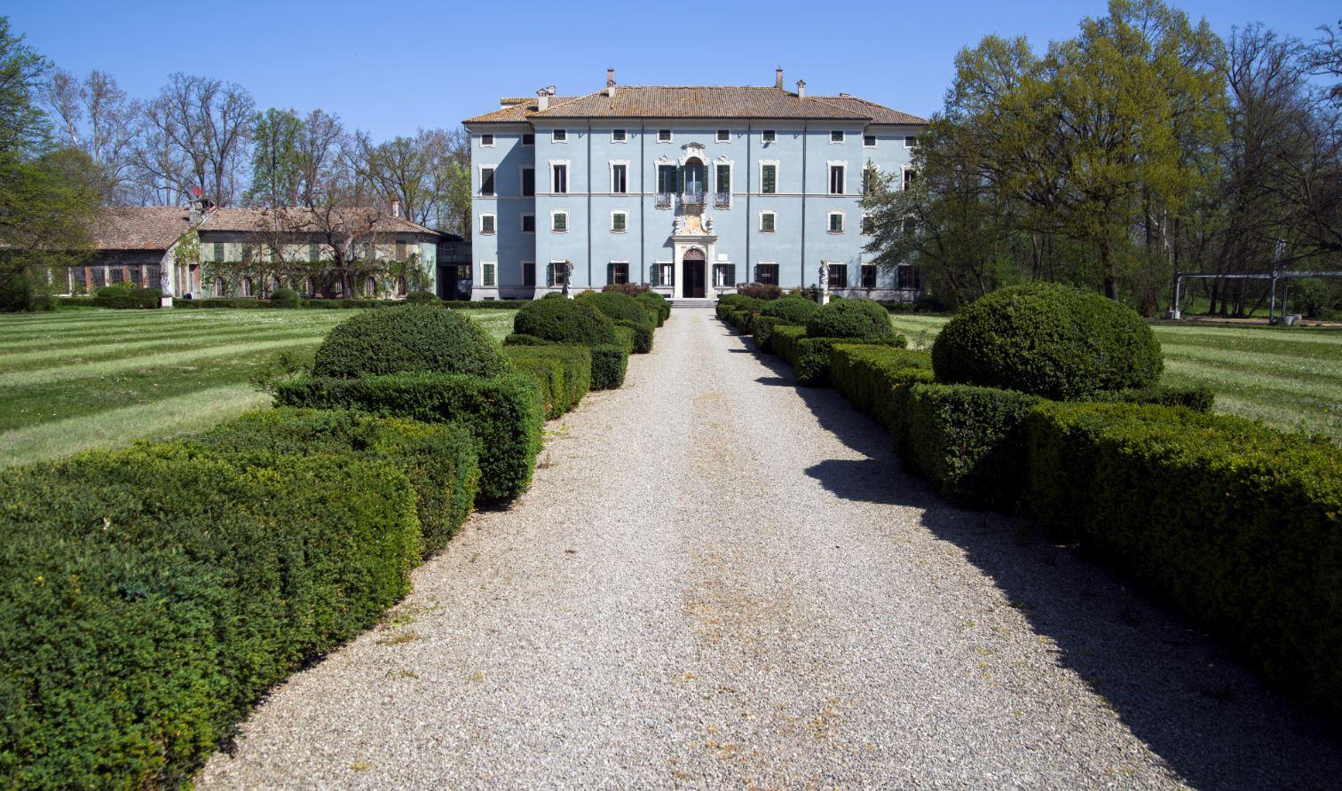 Villa Malenchini Parma Facciata